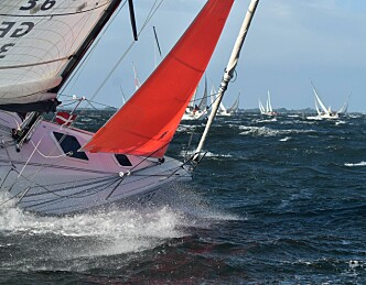 Norsk seier i forrykende regatta