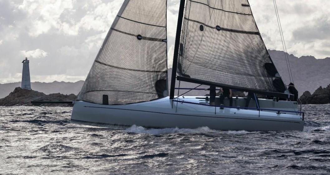 36-FOT: Swan startet med en 36-foter, og har aldri bygget en kortere båt.