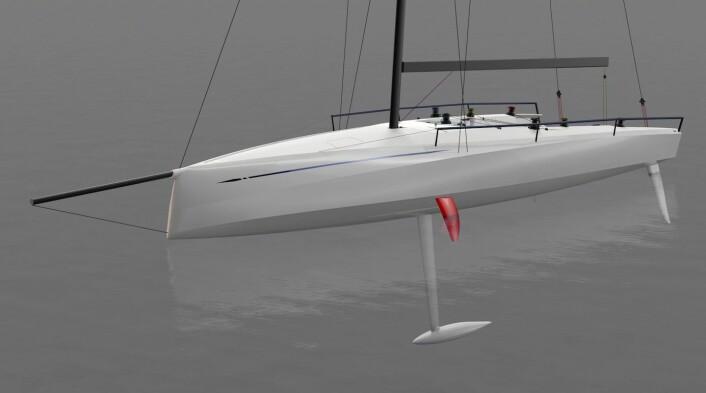 JANUAR: Prototypen av ClubSwan 50 skal vises frem i janura i Dusseldorf.