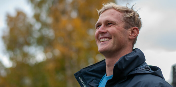 LANDSLAG: Hermann Tomasgaard representerer det norske landslaget, men har også med seg en britisk landslagsseiler.