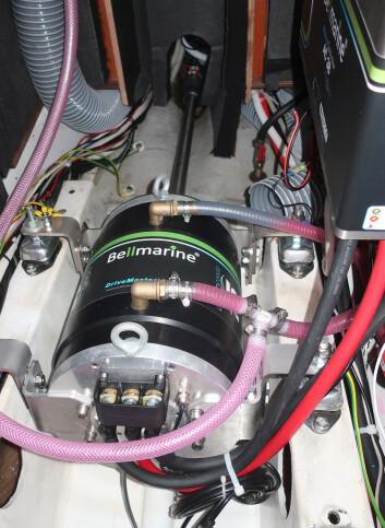 EL: Alvjakten får en 25 kW elmotor fra Bellmatine. Den skal gå på 96 volts spenning.
