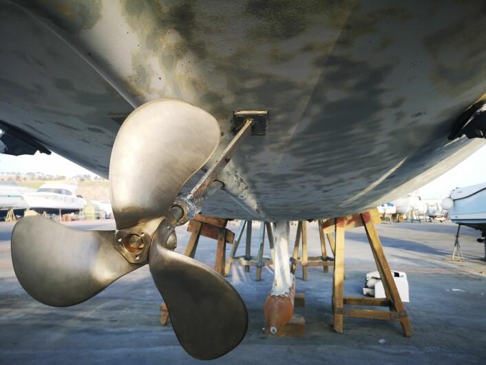 PROPELL: Eco*Star er utviklet for elbåter. Propellen har variabel stigning. Det skal gi bedre effekt under ulike hastigheter.