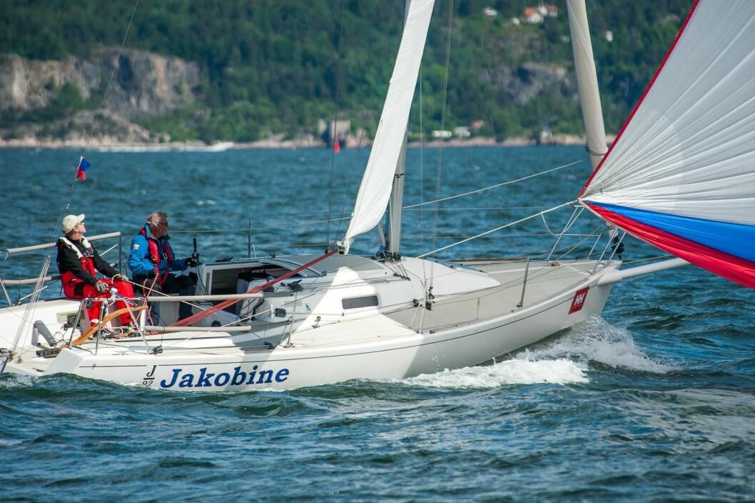 ANKERMENN: Yngve og Asbjørn Lønmo var to av Hurum Seilforenings seks seilere som sørget for at foreningen ble den beste i år.