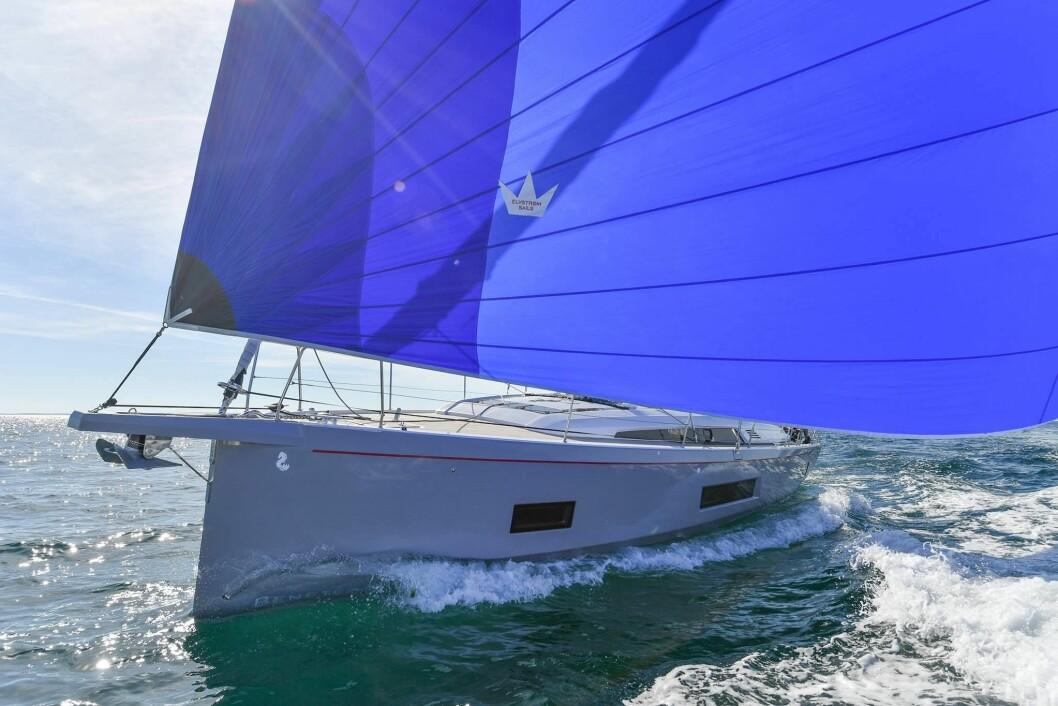 SPENNENDE: Oceanis 46.1 er en av de mest spennende båtene vi skal seile, sett fra norske båtkjøperes øyne.