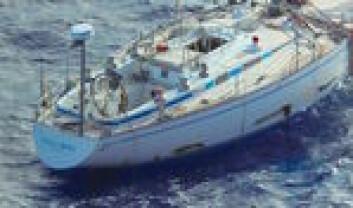 FUNNET: Bildene av båten som har drevet rundt i Atlanterhavet i over et halvt år, forundrer eieren.