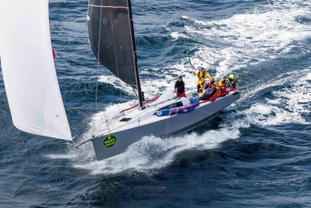 FASTNET RACE: Båten som tok over-all seieren i 2017 er nå i produksjon.