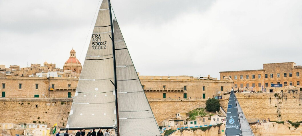 Fastnet vinner vant Middel Sea Race
