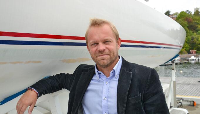 KNS: Anders Kristensen har jobbet hardt for å få flere klasser til Færderseilasen.