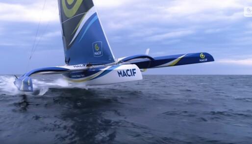 Skal seile 1,7 x vindhastigheten over Atlanterhavet
