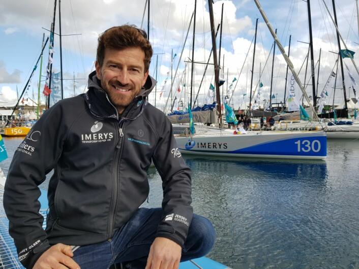 FAVORITT: Phil Sharp vant i 2006, og leder Class 40-serien i 2018. Han seiler en båt fra 2013, men er allikevel en av favoritene.