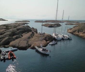 SKJÆRGÅRDEN: I Sverige fikk vi oppleve hva vi har av goder for båtlivet her oppe i nord.