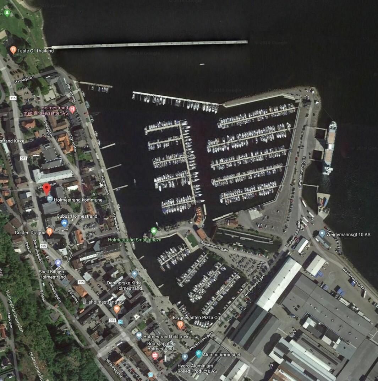 HOLMESTRAND: Mye ligger til rette for å starte Skagen Race fra Vestfoldbyen