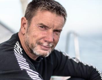 SVENSK: Mikael Ryking fra Sverige seiler en Pogo S2. Han har i de to siste årene deltatt i ARC med båten, og seilt regattaer i Karibia.