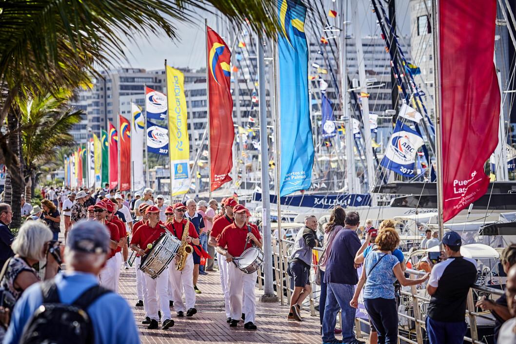 ARC: 1. november åpnet World Cruising Club sine aktiviteter i Las Palmas. 11. november starter de første båtene.