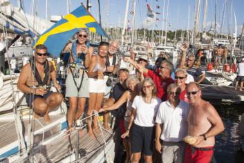SVENSKE: Det deltar 12 svenske båter ot 13 norske, men bare 4 av de svenske seiler innom Kapp verde.