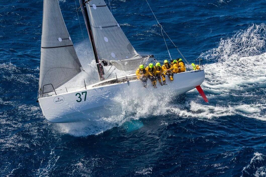 JPK: Vinneren av Fastnet Race «Courrier Leon», ble nummer to over-all i Sydney Hobart Race.