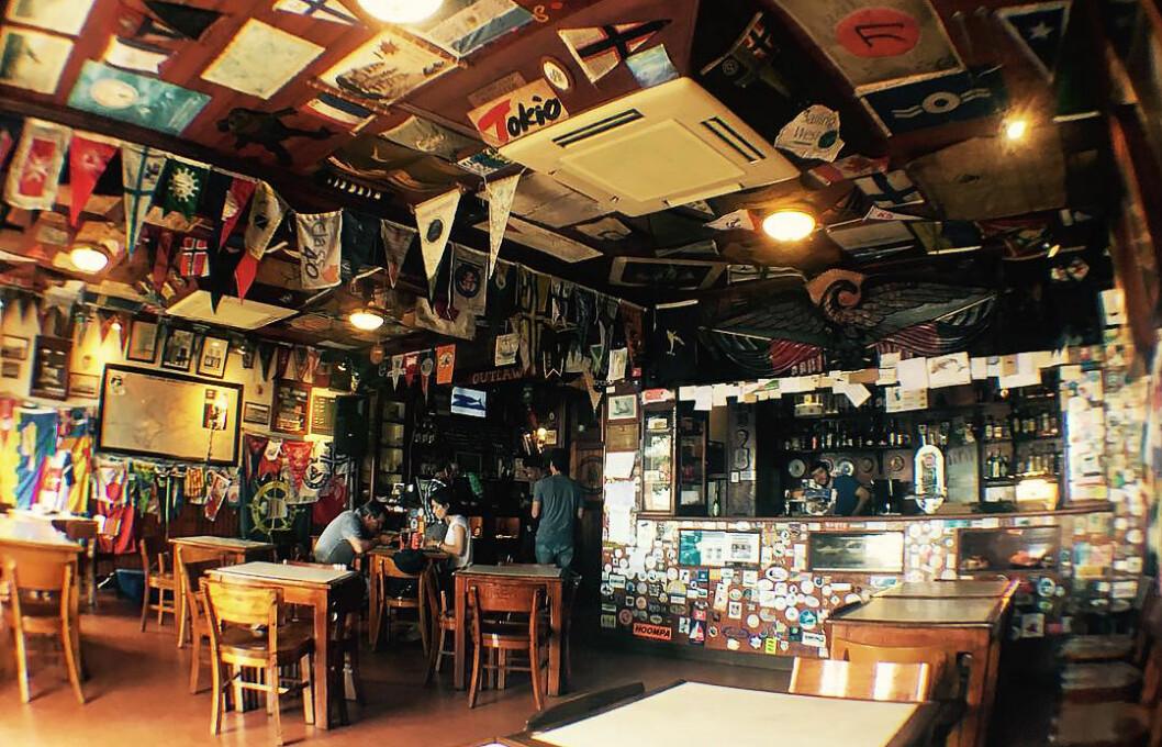 BEST I 2009: Peter?s Cafe Sport på Azorene ble kåret til beste seiler-bar i 2009.