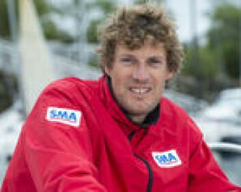 UNG: 32 år gamle Paul Meilhat har tatt steget opp fra Figaro-klassen til IMOCA, og har overtatt Macif.