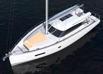 UNIK: Moody 41 er enn allværsbåt, perfekt for å strekke sesongen i begge ender.