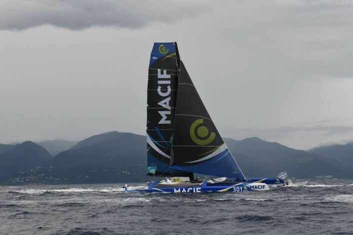 Guadeloupe: Gabart kan snart se mållinjen, men også konkurrenten bak.