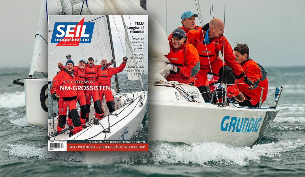 GROSSIST: Kristoffer Spone har 21 mesterskapstitler og vant Mesternes mester 2018.