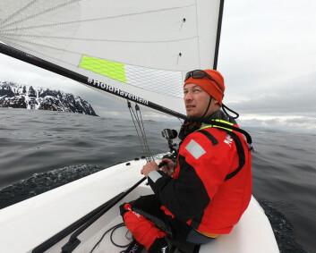 JOLLE: Magne Klann forteller om sine opplevelser langs norskekysten.