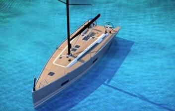 ELEGANT: Solaris 47 har linjer fra en regattabåt, men komforten fra en turseiler.