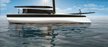 NY: Også Gunboat planlegger nye modeller med nytt formspråk. Disse båtene i samme størrelse får buet stikkjøler som skal redusere dynamisk vekt under fart.