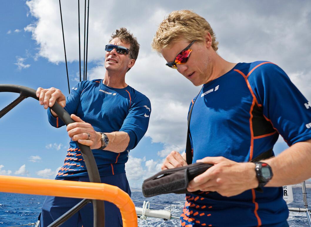 VOR: Anders Lewander seilte med Aksel Magdahl på «Ericsson 3« under Volvo Ocean Race.