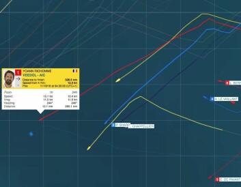 ROMMERE: Vinnerbåten kunne seile lavere og mer direkte med samme fart. Det blir det mil av.