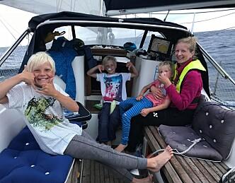 Møt norske barnefamilier på langtur