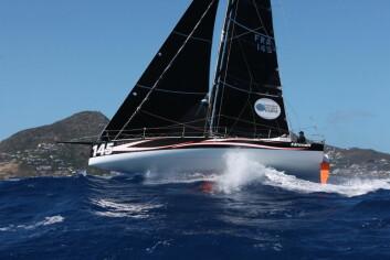 STERK: Catherine Pourre er skipper på «Eärendil», en relativt ny Class 40.