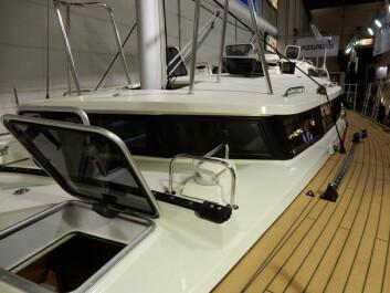 SKIP: Overbygget gir båten ekspedisjonspreg. Lang erfaring ligger bak utformingen av et slikt overbygg.