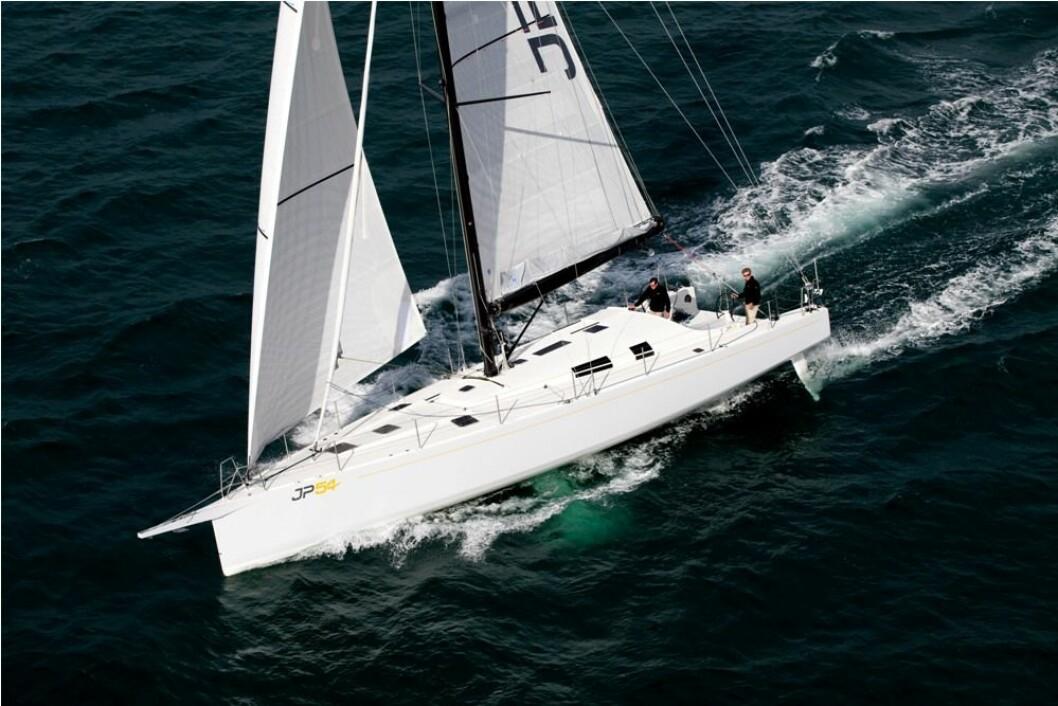 RASK: Jean?Pierre Dick seiler JP 54, hans egen drømmebåt i ARC.