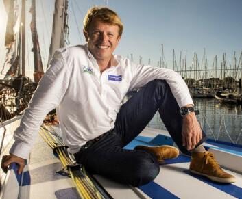 TOPPSEILER: Jean?Pierre Dick har i snart 20 år vært en av toppseilerne i det franske shorthandmiljøet. Nå er han med i selskapet Absolute Dreamer, men tar seg tid til en seiltur.