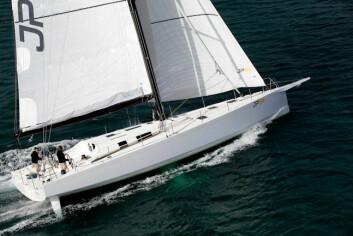 PLANER: JP54 har linjer og løsninger fra IMOCA: Den ebygget for å være lettseilt. Båten har bare tre vinsjer.