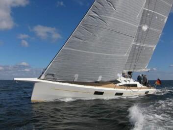 RASK «Nica» er en FC53 som veier bare 8,8 tonn. Båten bygges kundetilpasset i Tyskland.