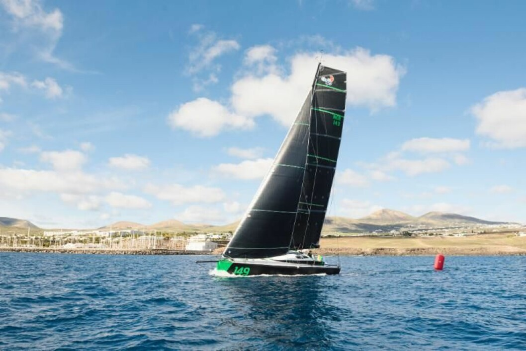 LEDER: «Hydra» ligger først av Class 40-båtene i RORC Transatlantic Race.