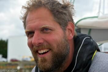 MASKIN: Mark Slats har rod fra Kanariøyene til Karibia på bare 30 dager.