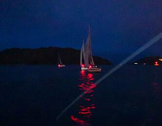Magisk kveld på sjøen