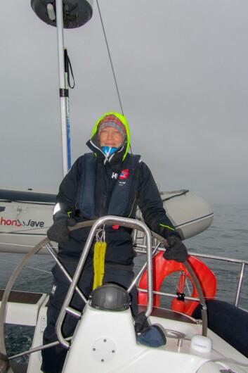 SVALBARD: Inger Smågård seilte til Svalbard med Seil Norge.