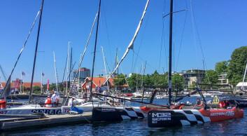 I KRISTIANSAND: NM og nordisk mesterskap i Melges 24. M 32 er klar.