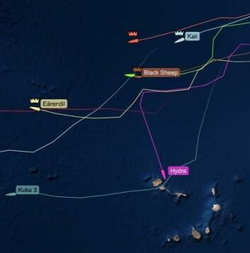 KAPPVERDE: «Hydra» vil ankomme Kapp Verde på fredag 30. november,