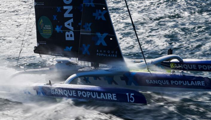 «Banque Populaire IX» er tapt