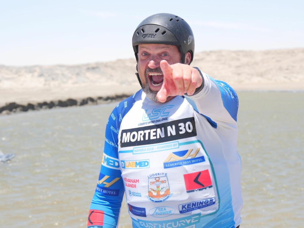 50 år gamle Morten Knutsen fra Haugesund