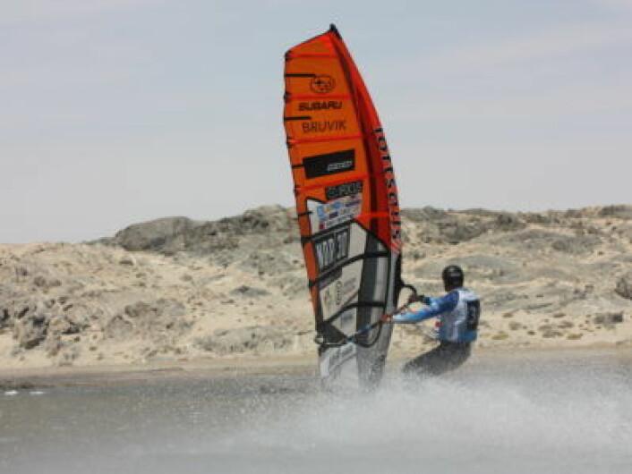 Norsk fartsrekord av Morten Knutsen
