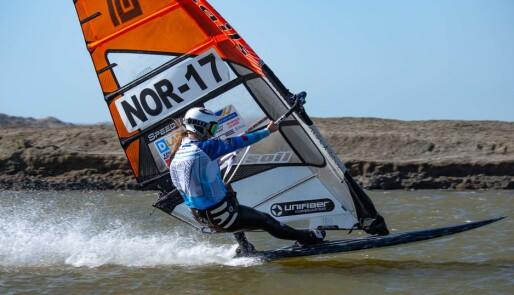 Ingen har seilt raskere enn Miriam Rasmussen