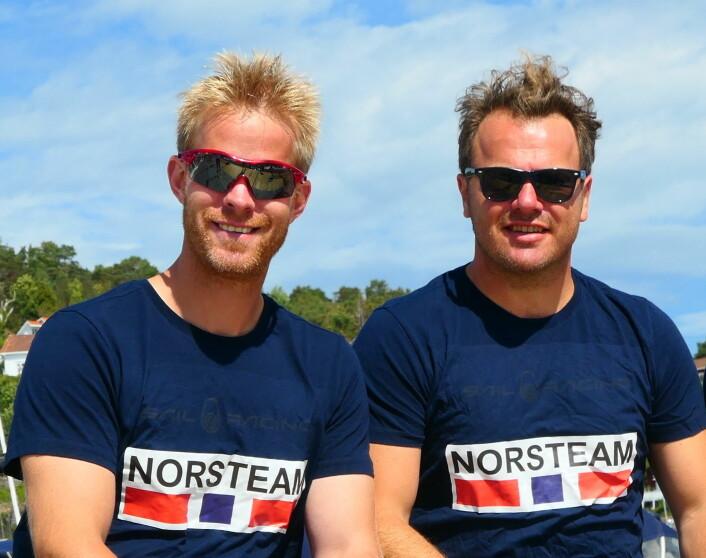 Petter Mørland Pedersen og Christian Løken