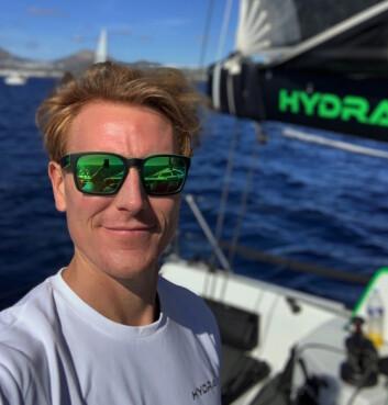 HYDRA: Henrik Bergesen seiler «Hydra», en Class 40, og deltok i RORC Transatantic Race.