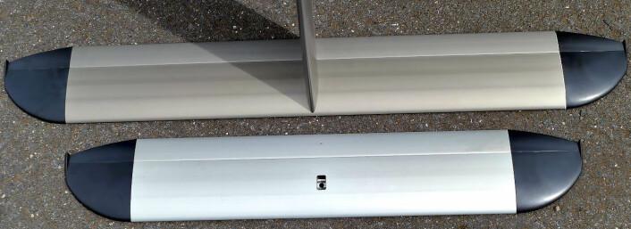STØRRE: De nye, større foilene skal gi Waszp bedre egenskaper.